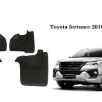 Car Mud Flaps Splash Guard for Toyota fortuner 2016-2019 Mudguard Fender 4PCS/Set