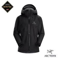 【Arcteryx 始祖鳥】女 GORE-TEX Beta LT 防水外套(黑)
