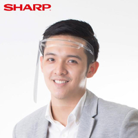【SHARP 夏普】奈米蛾眼科技防護面罩 4入