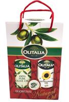 奧利塔-頂級橄欖油/頂級葵花油1公升雙入禮盒組