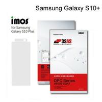 【iMos】3SAS系列保護貼 Samsung Galaxy S10+ 超潑水、防污、抗刮