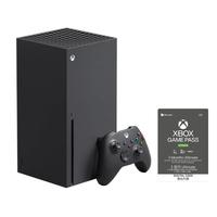 Xbox Series X 主機 + XBOX Game Pass終極版 3個月 (現貨不用等)